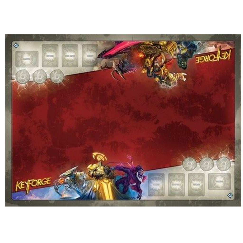 Keyforge : Call of the Archons - Architect's Vault Two-Player Gamemat