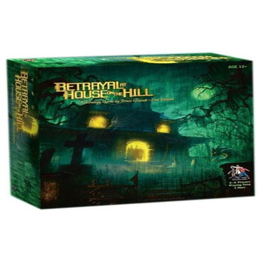 Avalon Hill Board Game Betrayal at House on the Hill 2nd Edition