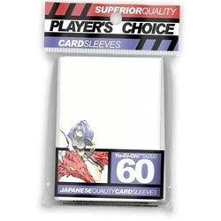 Players Choice-Small Sleeves-White (60 Sleeves)