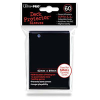 Ultra Pro – Small Card Sleeves 60pk - Black
