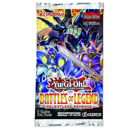 Yu-Gi-Oh! - Battles Of Legend Relentless Revenge Booster Pack