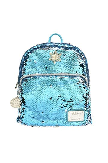 Disney Frozen Elsa Sequin Backpack- Disney by Loungefly