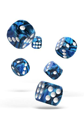 Oakie Doakie Dice D6 Dice 16 mm Gemidice - Twilight Stone (12)