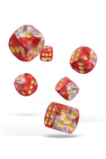 Oakie Doakie Dice D6 Dice 12 mm Gemidice - Red Sky (36)