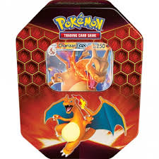 Pokemon-Hidden Fates Collectors Tin - Charizard-GX (Reprint New Packaging) (2 Per Customer)