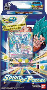 Dragon Ball Super CG: Starter Deck SD12 Spirit of Potara