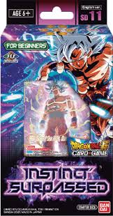 Dragon Ball Super CG: Starter Deck SD11 Instinct Surpassed