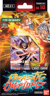 Dragon Ball Super CG: Starter Deck SD10 Parasitic Overlord