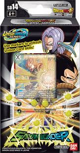 Dragon Ball Super CG: Starter Deck SD14 Saiyan Wonder