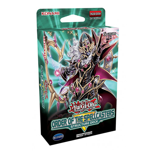 Yu-Gi-Oh!- Order Of The Spellcasters Structure Deck