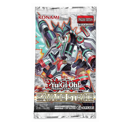Yu-Gi-Oh! - Savage Strike Booster Pack