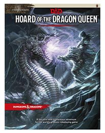 Dungeons & Dragons RPG Adventure Tyranny of Dragons - Hoard of the Dragon Queen