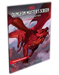 Dungeons & Dragons RPG Dungeon Master's Screen Reincarnated