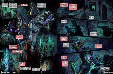 Court of the Dead Graphic Novel Shadows of the Underworld