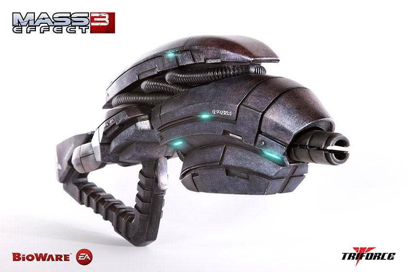 Mass Effect 3 Replica 1/1 Geth Pulse Rifle 84 cm