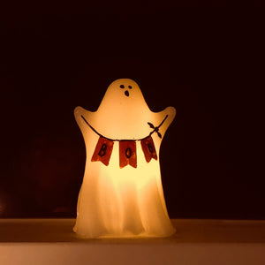 Boo Ghost LED Candle