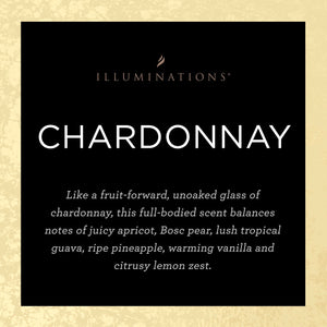 Chardonnay Signature Scented Candle