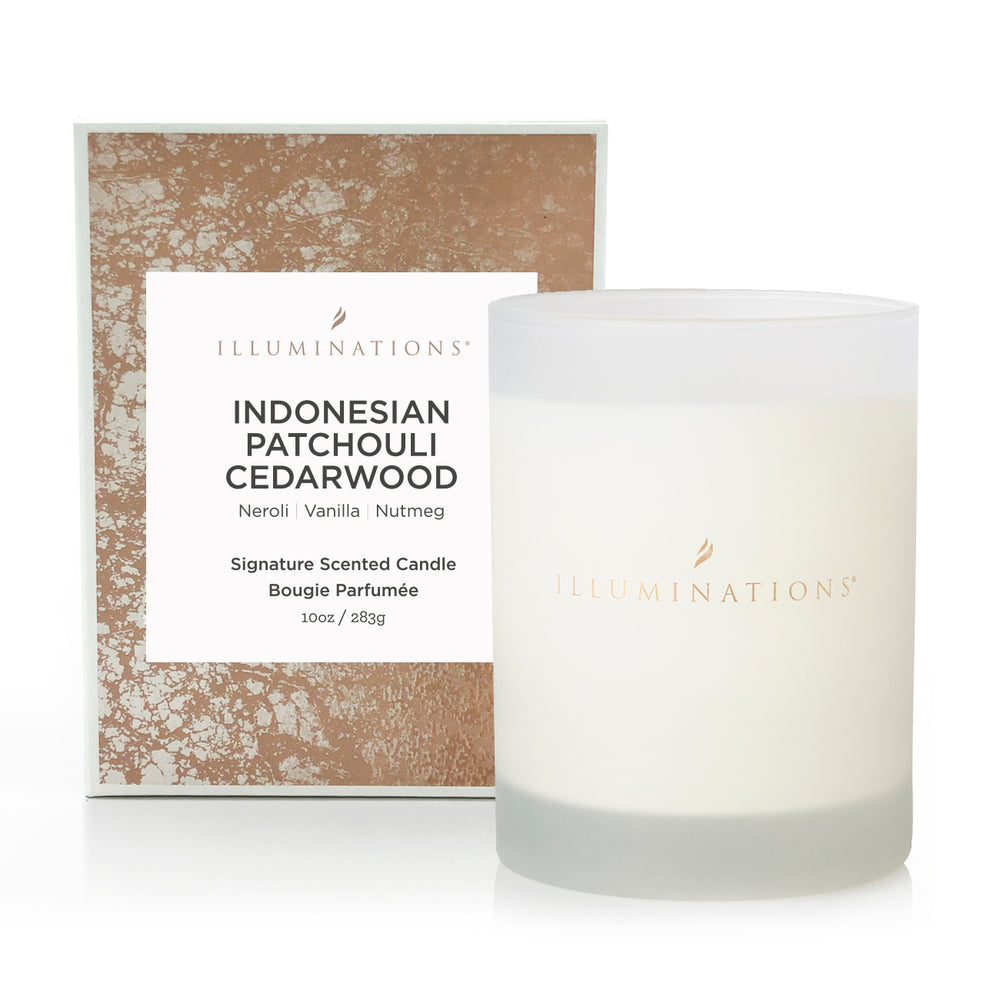 Indonesian Patchouli Cedarwood Signature Scented Candle