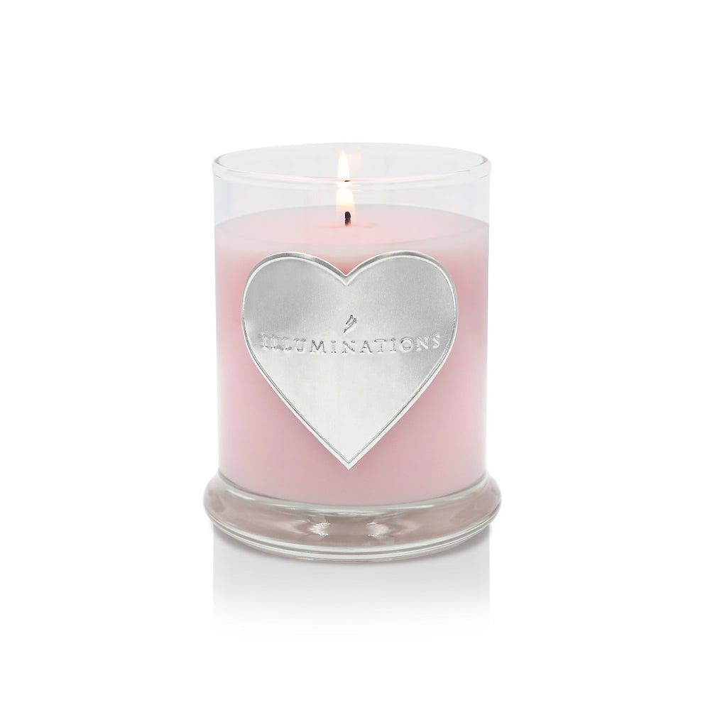 Rose Heart 6 oz. Jar Candle