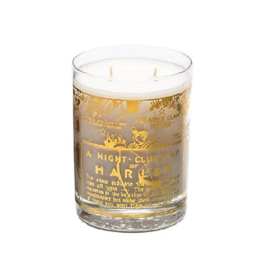 Harlem 22K Gold Nightclub Map Luxury Scented Candle
