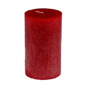 "Vance Kitira Timber Pillar 3.25x6"" - Red"