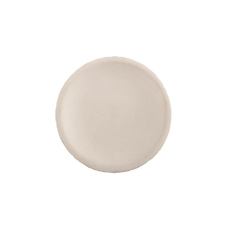 "Vance Kitira Clay Candle Tray 4.5"" White"