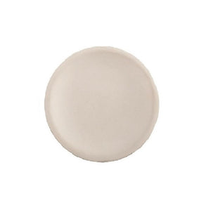 "Vance Kitira Clay Candle Tray 5.5"" White"