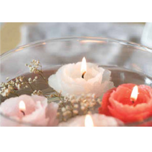 Vance Kitira Floating Rose Candles S/4