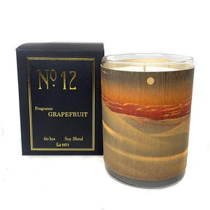 Spitfire Girl Wood Candle No. 12 Grapefruit