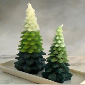 Ombre Tree Candle Large