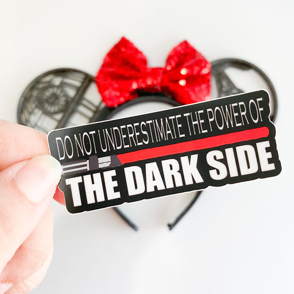 Dark Side Sticker