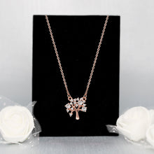 Load image into Gallery viewer, Rose Gold Tree of life Pendant