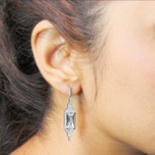 Load image into Gallery viewer, Silver Diva Ornate Earrings
