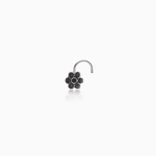 Load image into Gallery viewer, AVNI - Oxidised Silver Classic Nose Pin