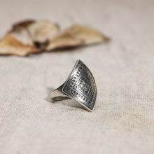 Load image into Gallery viewer, AVNI - Oxidised Silver Statement Ring