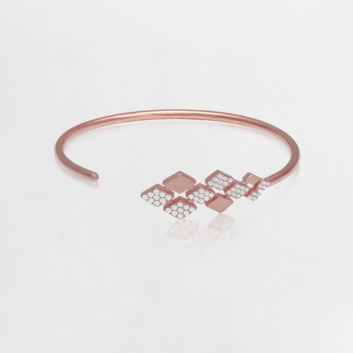 Rose Gold Graceful Beauty Bracelet