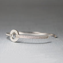 Load image into Gallery viewer, Silver Forever Ring Bracelet-GIVA Jewellery