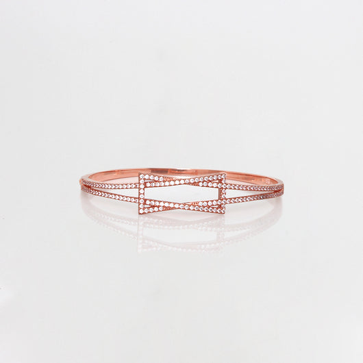 Rose Gold  Interlaced Geometry