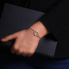 Load image into Gallery viewer, Rose Gold Forever Bracelet