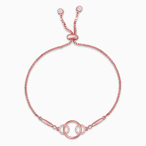 Rose Gold Embrace Bracelet