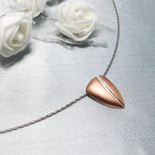Load image into Gallery viewer, Rose Gold Coffee Bean Pendant-GIVA Jewellery
