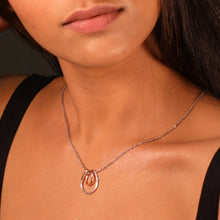 Load image into Gallery viewer, Rose Gold Oval Twist Set-GIVA Jewellery