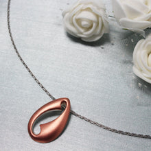 Load image into Gallery viewer, Rose Gold Cowri Pendant-GIVA Jewellery