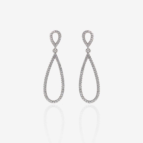 Silver Elegant Drop Earrings