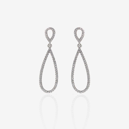Silver Elegant Drop Earring