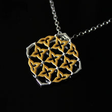 Load image into Gallery viewer, Golden Kolam Pendant-GIVA Jewellery