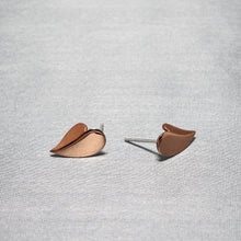 Load image into Gallery viewer, Classic Minimal Rose Gold Earrings-GIVA Jewellery