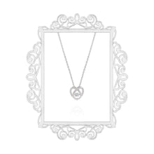 Load image into Gallery viewer, Silver Interlocked Heart Pendant