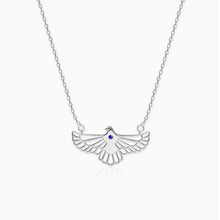 Load image into Gallery viewer, Silver Soaring Dove Necklace