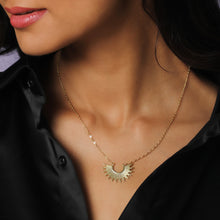Load image into Gallery viewer, Golden Radiant Sunrise Necklace